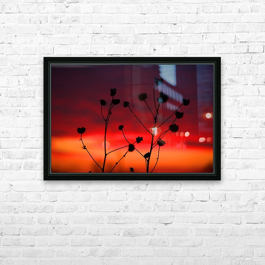 Liberty Sunset HD Sublimation Metal print with Decorating Float Frame (BOX)