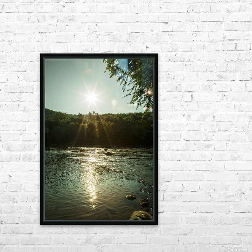 Sunlight HD Sublimation Metal print with Decorating Float Frame (BOX)