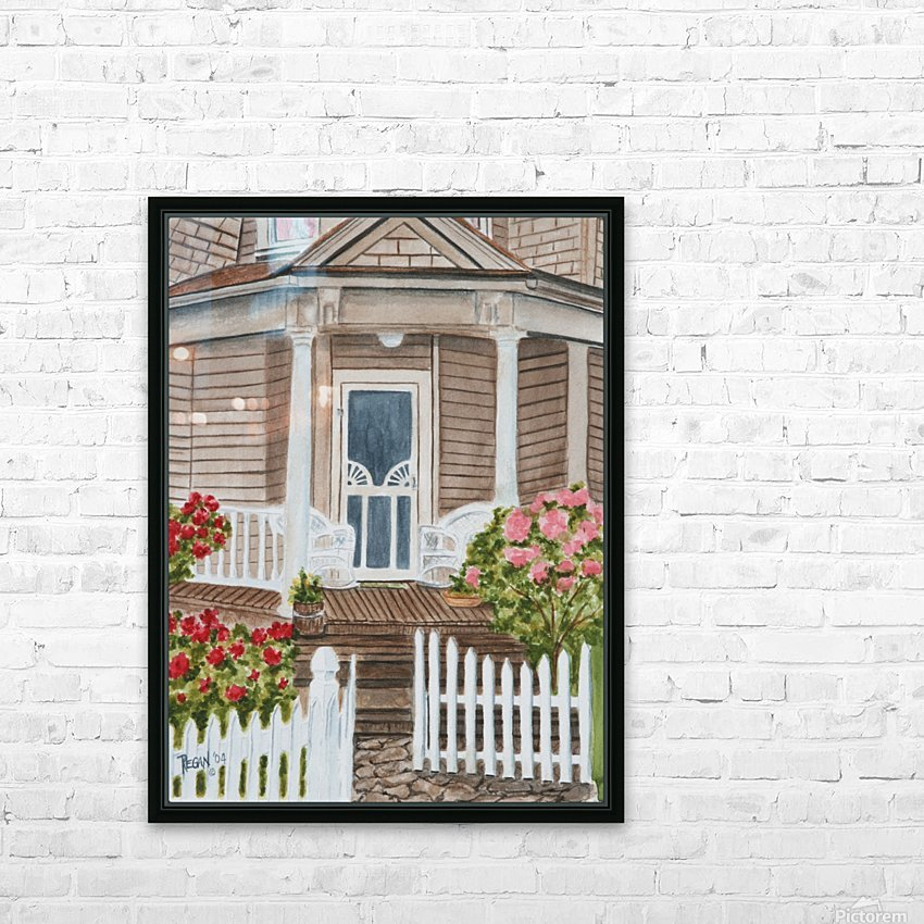 Welcome Home  HD Sublimation Metal print with Decorating Float Frame (BOX)