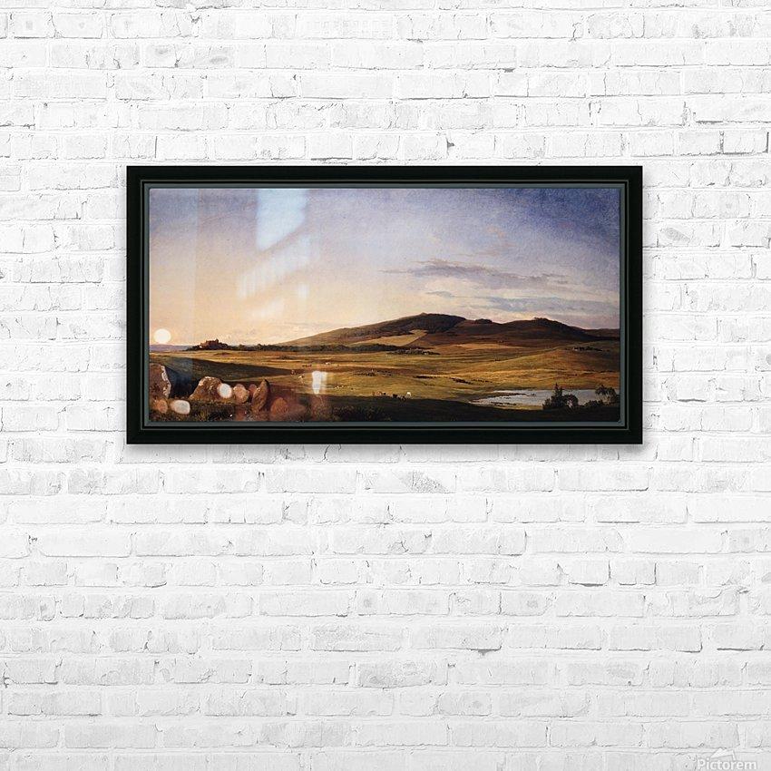 Zealand Landscape HD Sublimation Metal print with Decorating Float Frame (BOX)