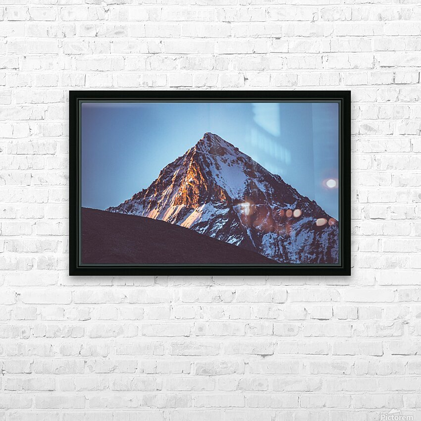 First sunlight HD Sublimation Metal print with Decorating Float Frame (BOX)