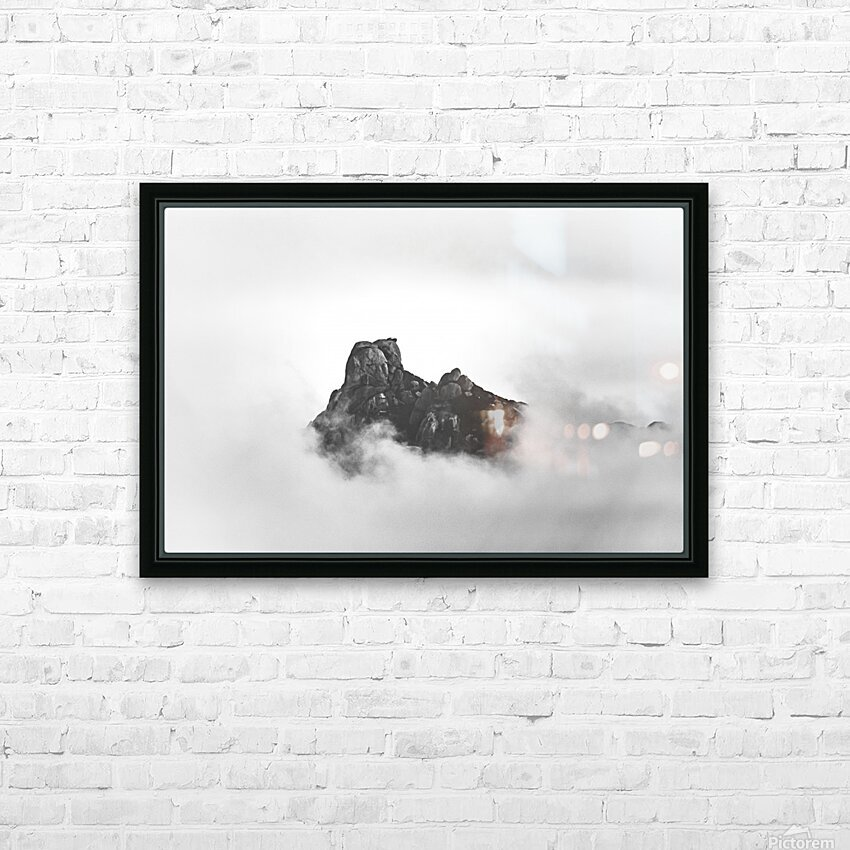 Sleeping golem HD Sublimation Metal print with Decorating Float Frame (BOX)