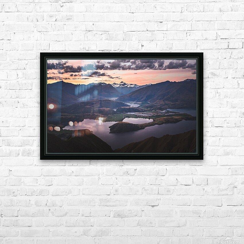 Tititea Mount Aspiring HD Sublimation Metal print with Decorating Float Frame (BOX)