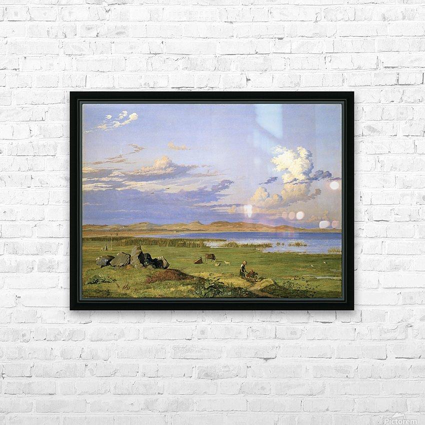 Landskab ved Arreso HD Sublimation Metal print with Decorating Float Frame (BOX)