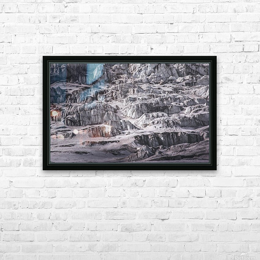 Cold HD Sublimation Metal print with Decorating Float Frame (BOX)
