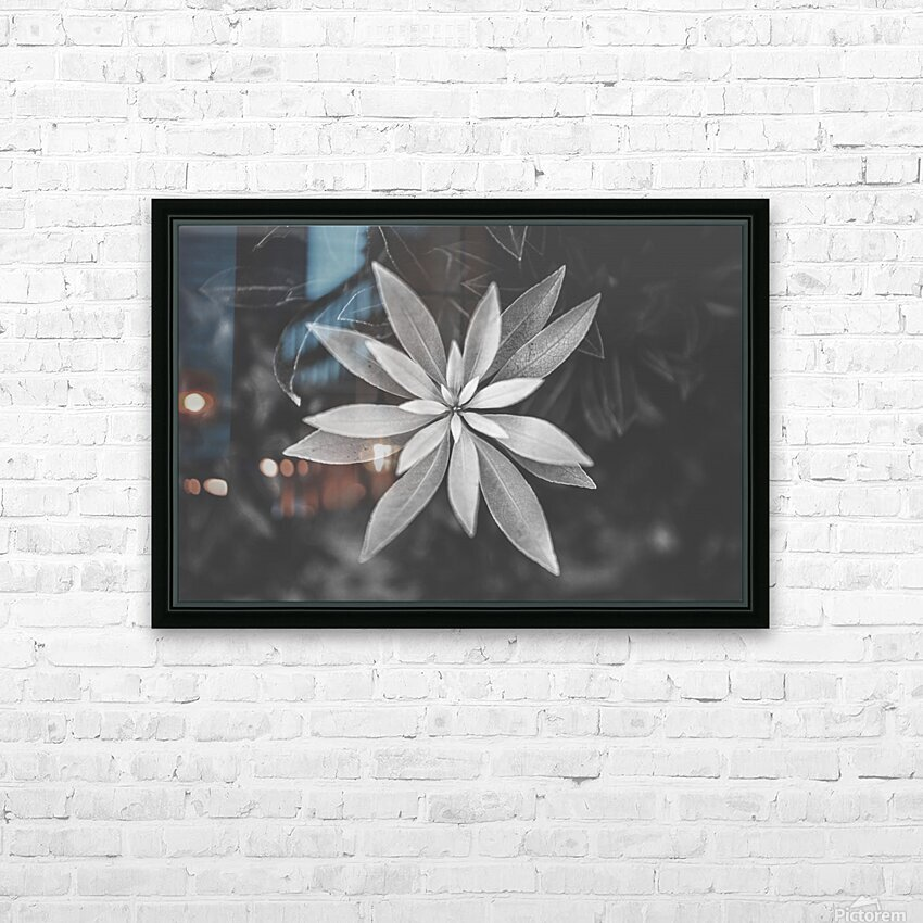 Symmetry of the nature HD Sublimation Metal print with Decorating Float Frame (BOX)