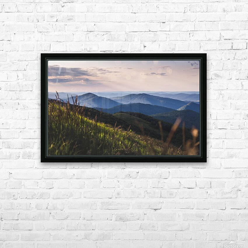 Soft chill in Bieszczady HD Sublimation Metal print with Decorating Float Frame (BOX)