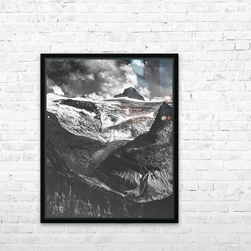 Ice tongue HD Sublimation Metal print with Decorating Float Frame (BOX)