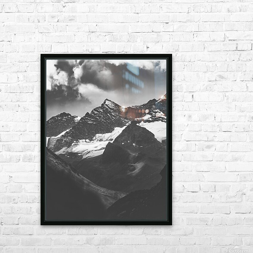 Cross HD Sublimation Metal print with Decorating Float Frame (BOX)