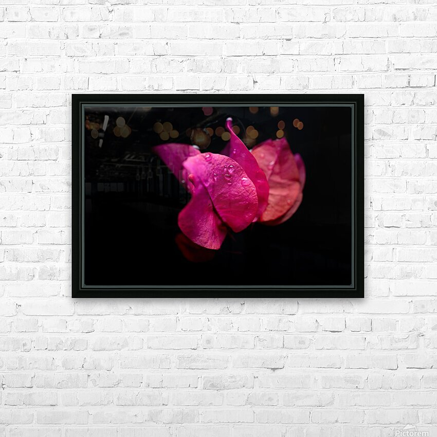 Subtlety HD Sublimation Metal print with Decorating Float Frame (BOX)