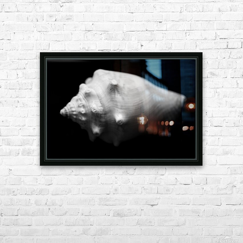 Series of shells HD Sublimation Metal print with Decorating Float Frame (BOX)