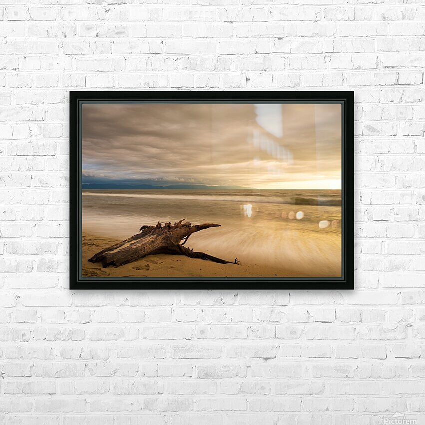 Limitless HD Sublimation Metal print with Decorating Float Frame (BOX)