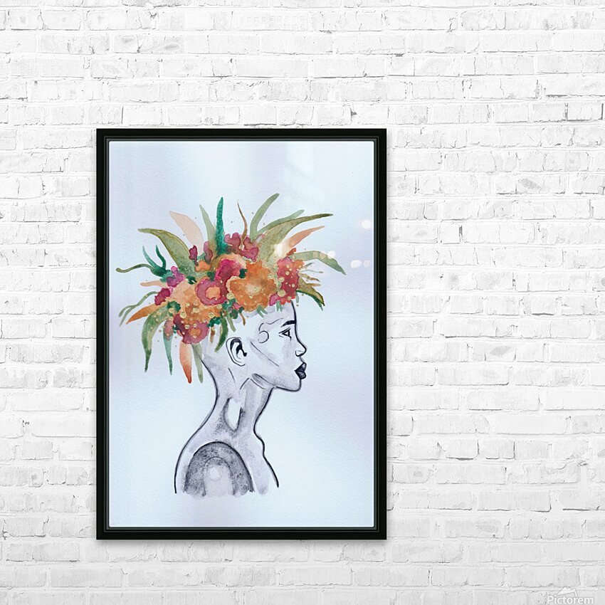 Crowned  HD Sublimation Metal print with Decorating Float Frame (BOX)