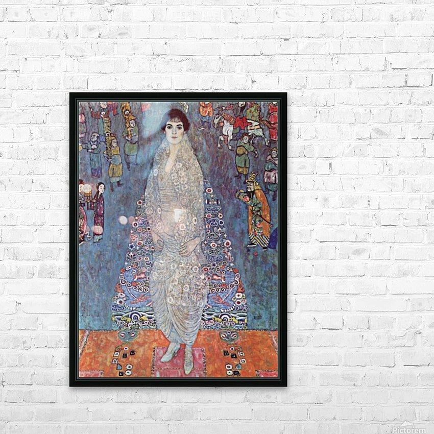 Portrait of Baroness Elisabeth Bachofen by Klimt HD Sublimation Metal print with Decorating Float Frame (BOX)