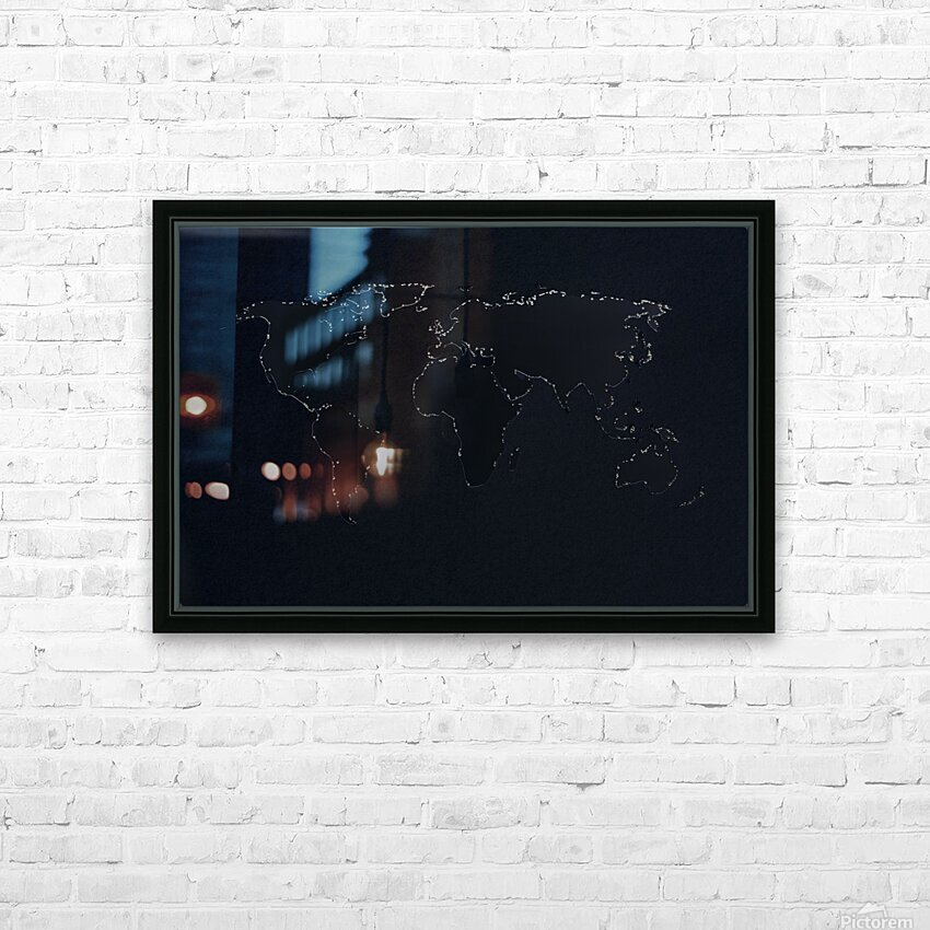 Dark Continent Lallia HD Sublimation Metal print with Decorating Float Frame (BOX)