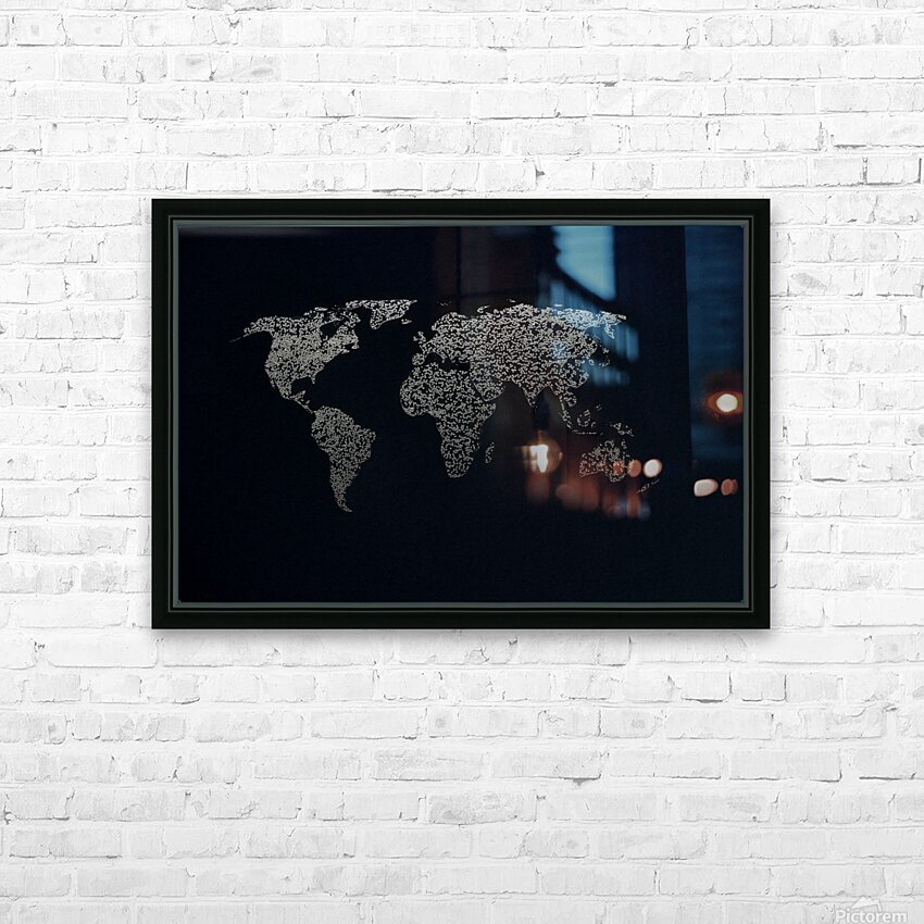 Dark Continent Ifren HD Sublimation Metal print with Decorating Float Frame (BOX)