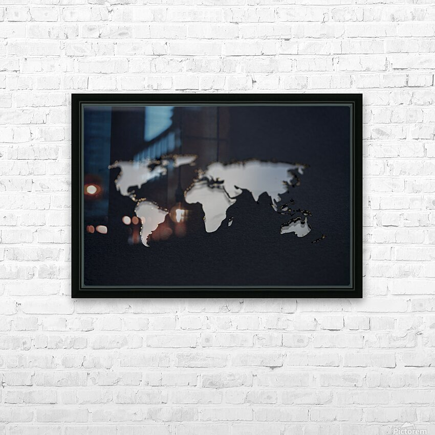 Dark Continent GoGo HD Sublimation Metal print with Decorating Float Frame (BOX)