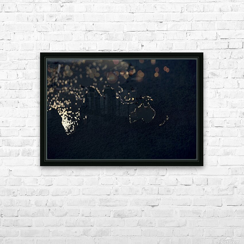 Dark Continent Erkon HD Sublimation Metal print with Decorating Float Frame (BOX)