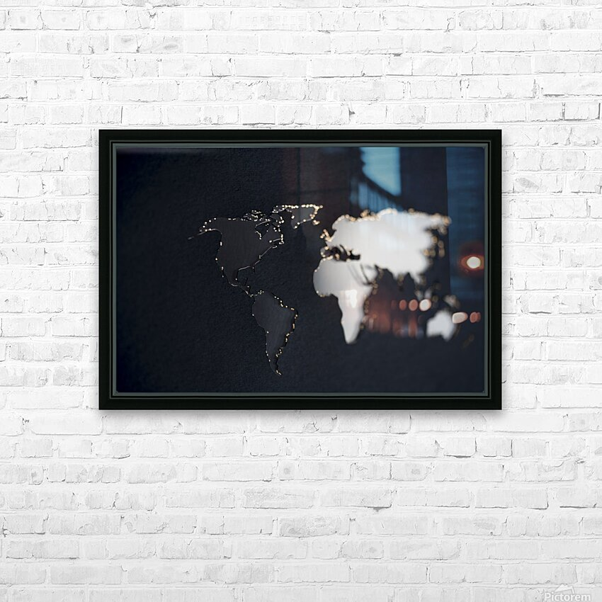 Dark Continent Briala HD Sublimation Metal print with Decorating Float Frame (BOX)