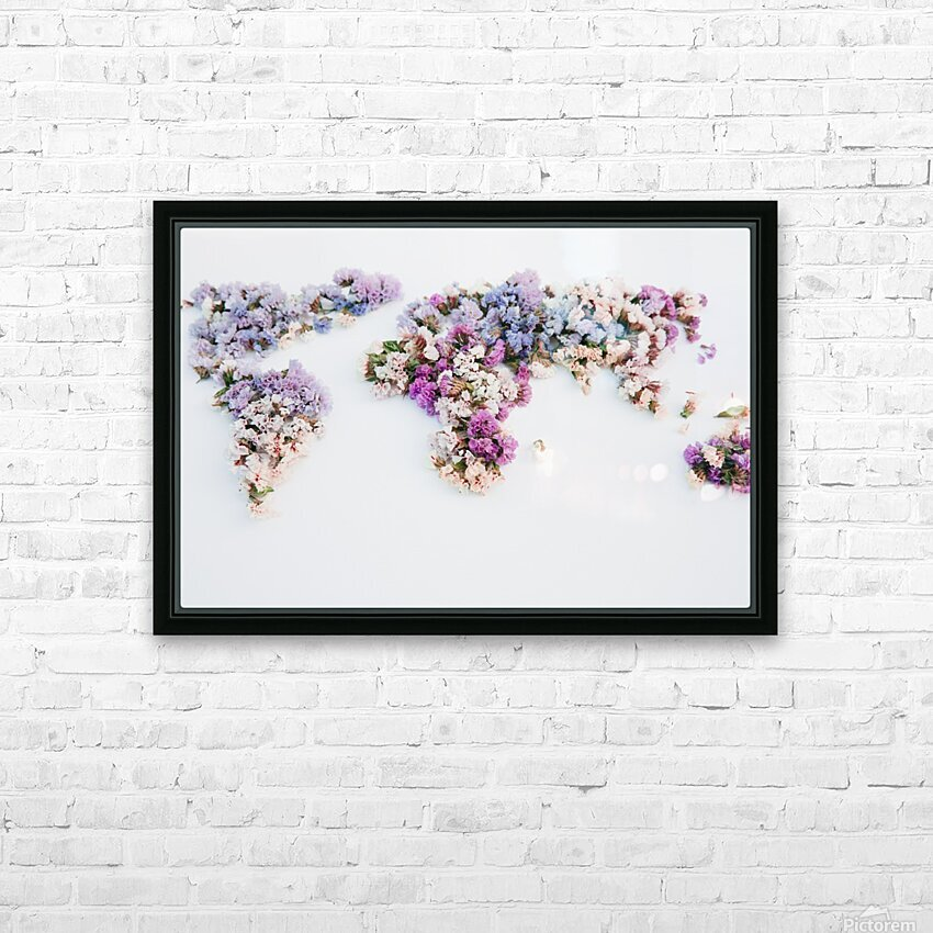 Light Continent Erina HD Sublimation Metal print with Decorating Float Frame (BOX)