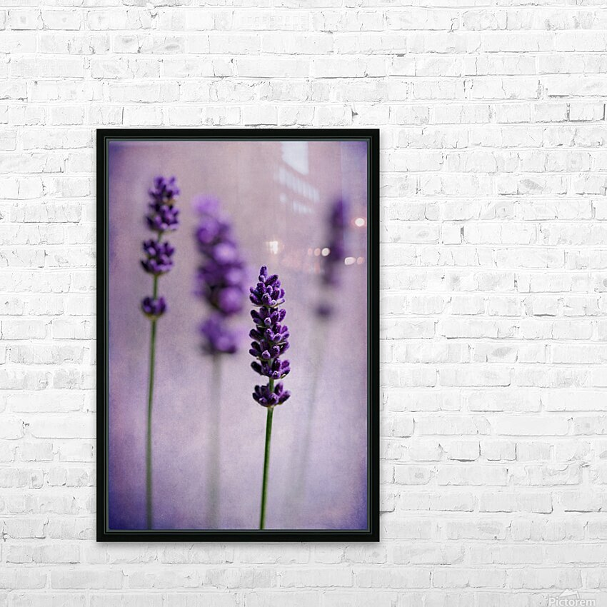 Lavender HD Sublimation Metal print with Decorating Float Frame (BOX)