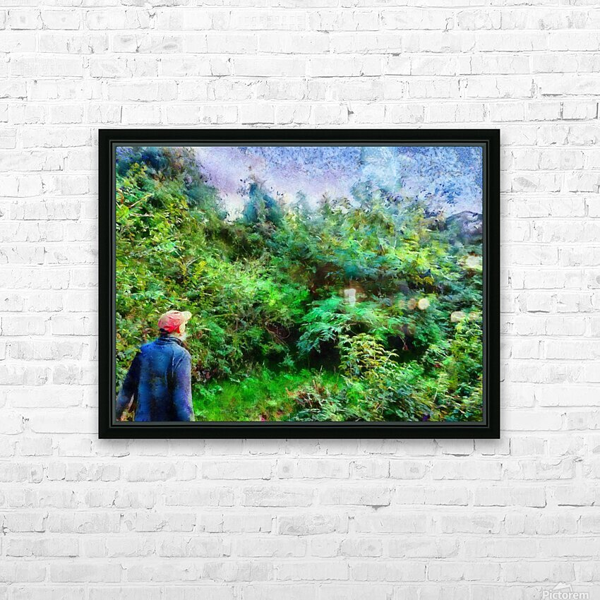 A Walk In The Countryside HD Sublimation Metal print with Decorating Float Frame (BOX)