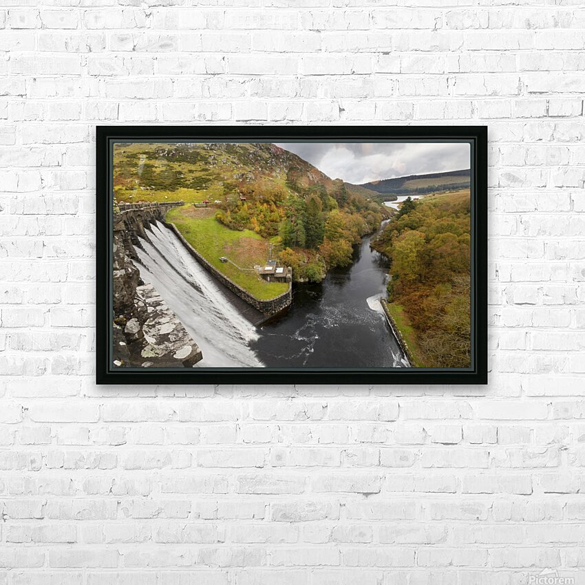 Craig Goch dam HD Sublimation Metal print with Decorating Float Frame (BOX)