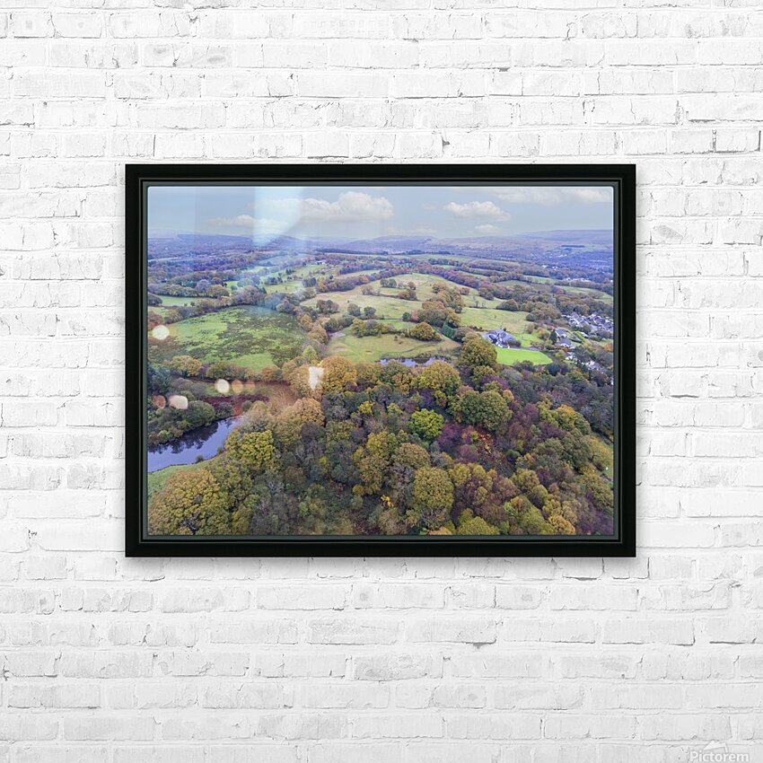 Autumn in Cwm-twrch Isaf HD Sublimation Metal print with Decorating Float Frame (BOX)