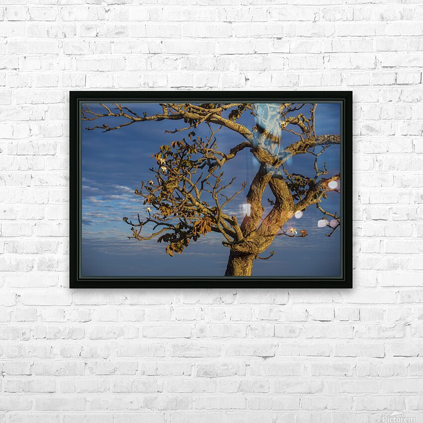 Renewal HD Sublimation Metal print with Decorating Float Frame (BOX)