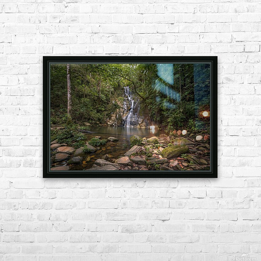 Place of peace HD Sublimation Metal print with Decorating Float Frame (BOX)