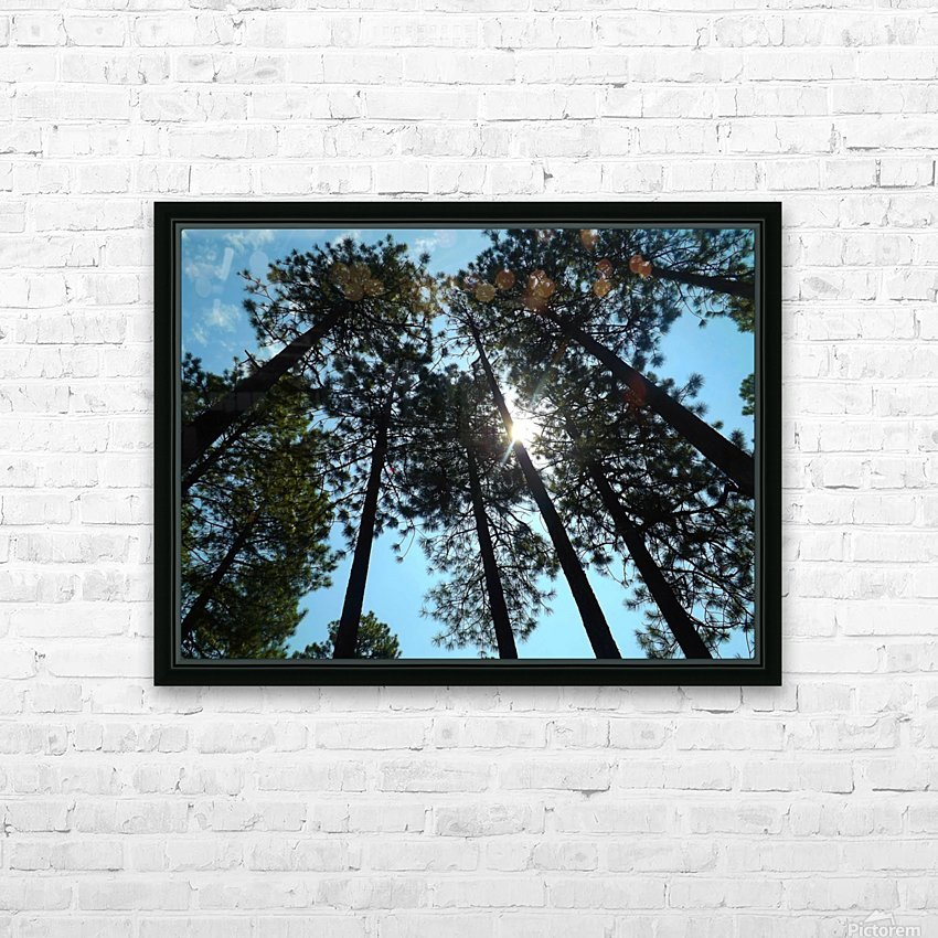 Look Up HD Sublimation Metal print with Decorating Float Frame (BOX)
