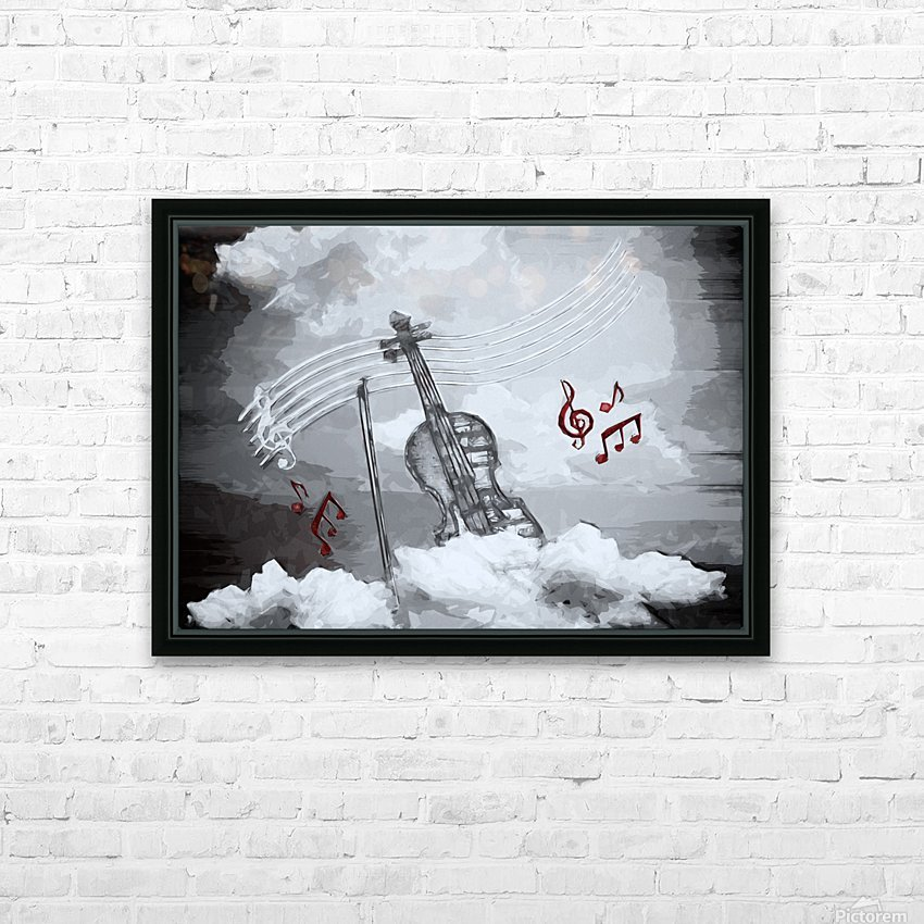 heavenly music HD Sublimation Metal print with Decorating Float Frame (BOX)