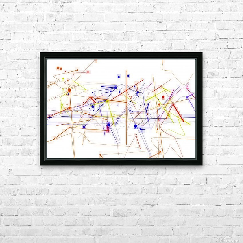 Station and ways of life HD Sublimation Metal print with Decorating Float Frame (BOX)