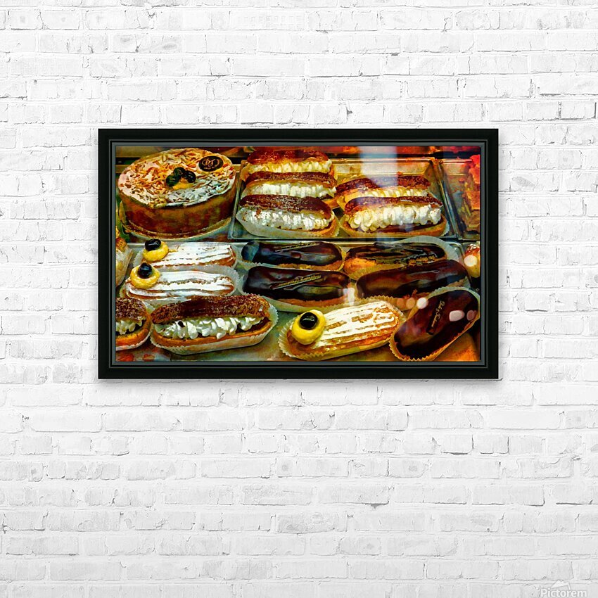 Italian Temptations HD Sublimation Metal print with Decorating Float Frame (BOX)