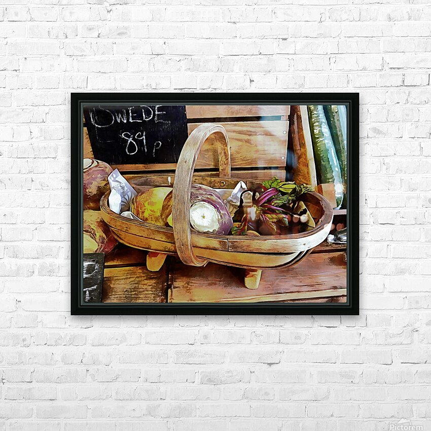 Swede Sale Display HD Sublimation Metal print with Decorating Float Frame (BOX)