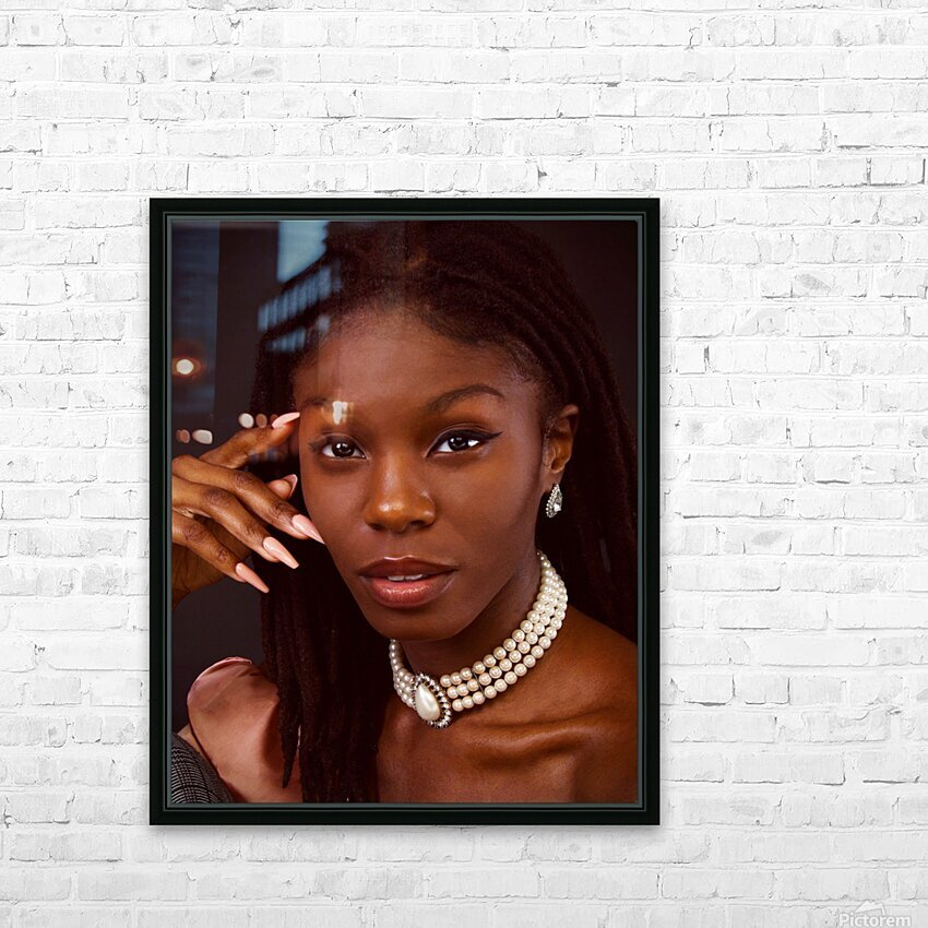 Headshot HD Sublimation Metal print with Decorating Float Frame (BOX)