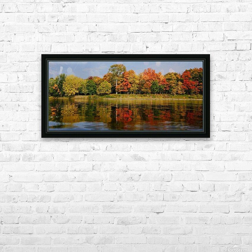 Fall in love with fall HD sublimation métal imprimé avec décoration flotteur cadre (boîte)