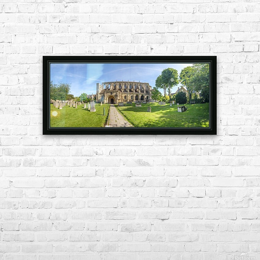 Historic Malmesbury Abbey, Wiltshire HD Sublimation Metal print with Decorating Float Frame (BOX)