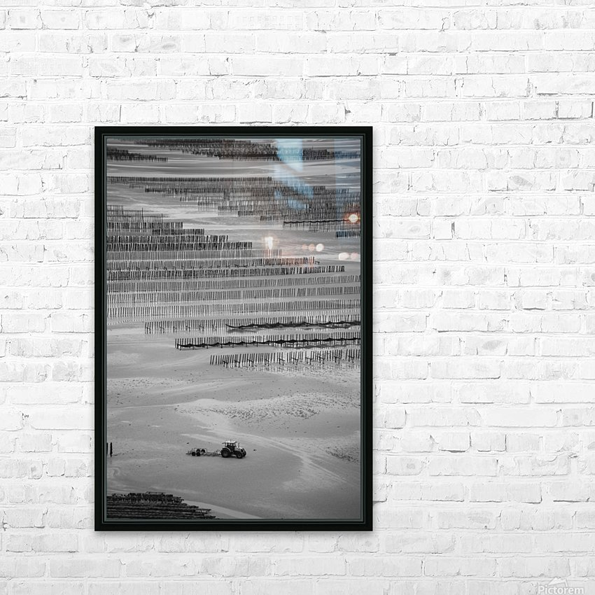 Cancale HD Sublimation Metal print with Decorating Float Frame (BOX)