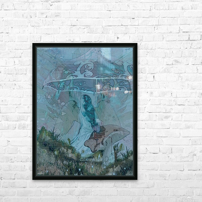 Whispers of the Misty Garden HD Sublimation Metal print with Decorating Float Frame (BOX)