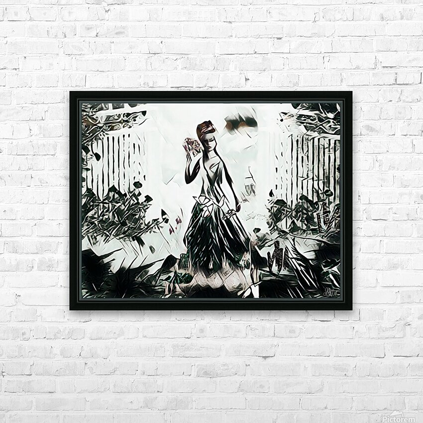 Natures Monarch of the Wild HD Sublimation Metal print with Decorating Float Frame (BOX)