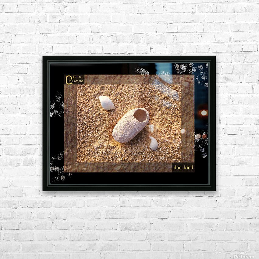 the child - German HD Sublimation Metal print with Decorating Float Frame (BOX)