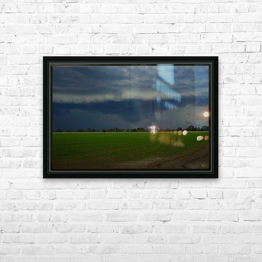 coraki storm HD Sublimation Metal print with Decorating Float Frame (BOX)