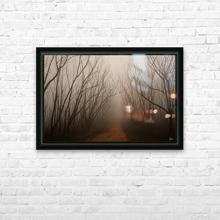 after the fire HD Sublimation Metal print with Decorating Float Frame (BOX)