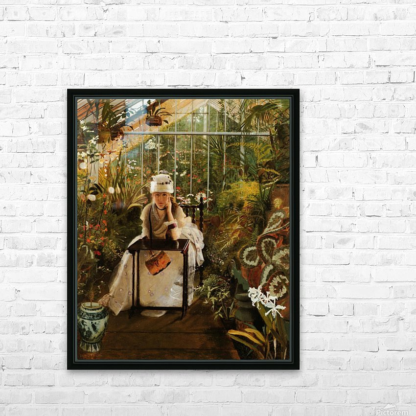 Il Penseroso HD Sublimation Metal print with Decorating Float Frame (BOX)