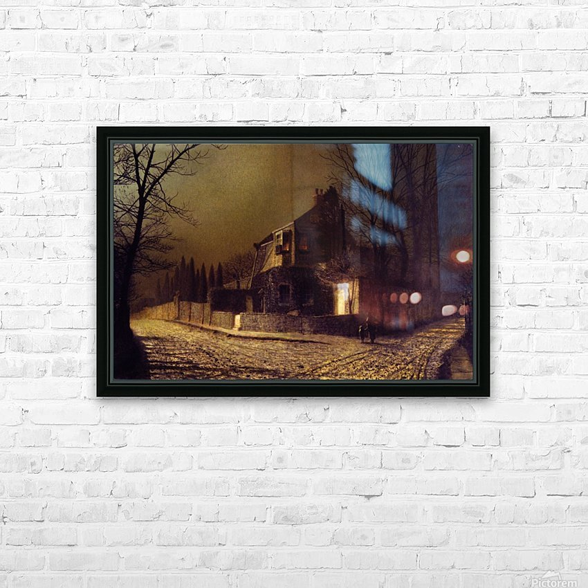 Yew Court, Scalby, near Scarborough HD Sublimation Metal print with Decorating Float Frame (BOX)