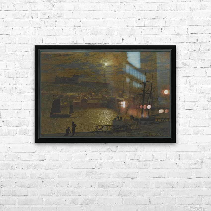 Whitby HD Sublimation Metal print with Decorating Float Frame (BOX)