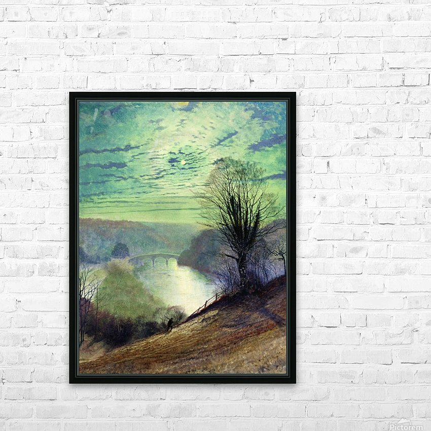 On the Tees near Barnard Castle HD Sublimation Metal print with Decorating Float Frame (BOX)