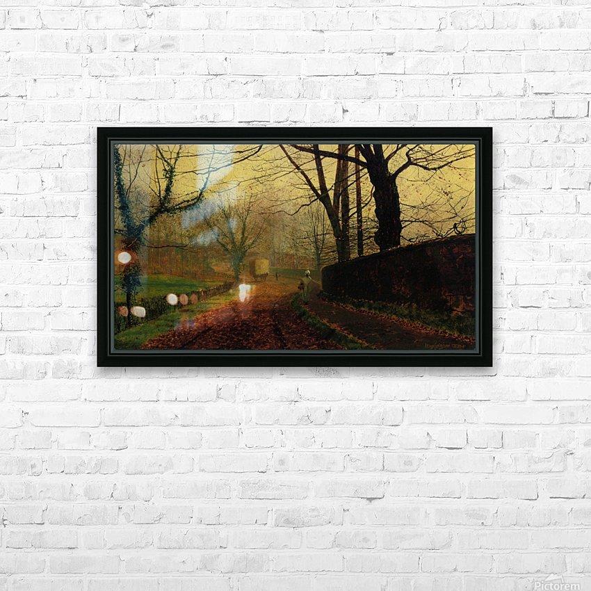 Autumn Sunshine Stapelton Park HD Sublimation Metal print with Decorating Float Frame (BOX)