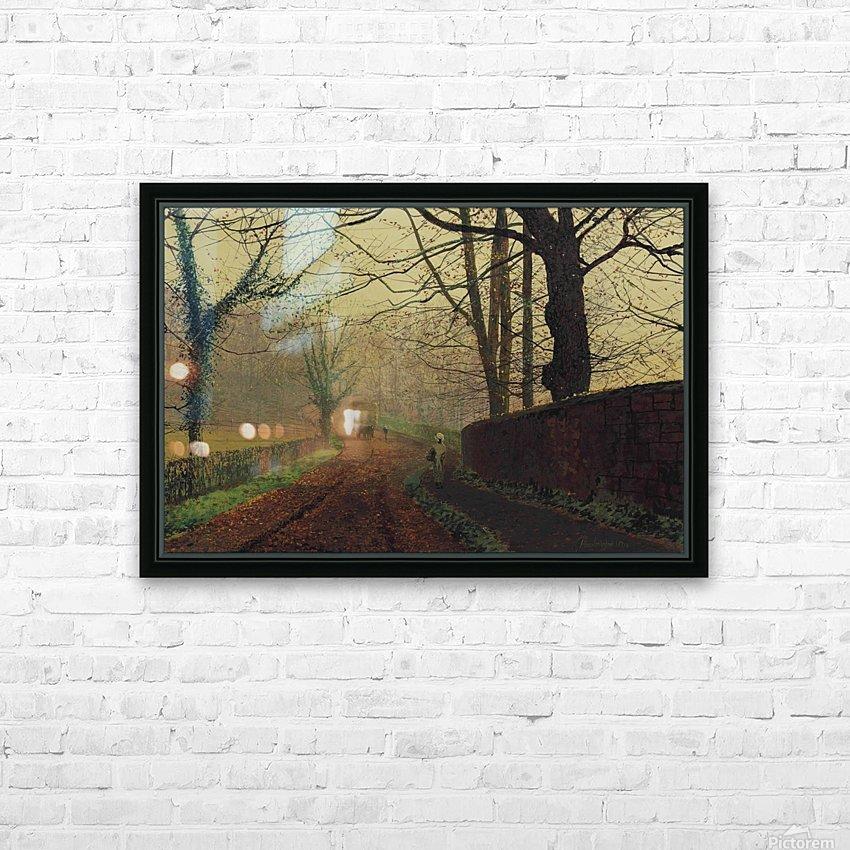 Stapleton Park, near Pontefract, Leeds HD Sublimation Metal print with Decorating Float Frame (BOX)
